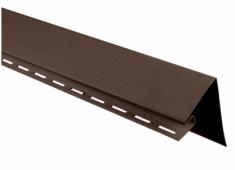 """Планка """"околооконная широкая"""" коричневая Т-05 - 3,00м."""
