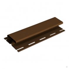 """Планка """"соединительная"""" коричневая Т-18  -  3,00м."""