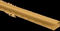Планка J - trim золотистая Т-15 - 3,00м