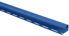 """Сайдинг Планка """"J - trim"""", 3660 мм, цвет Синий"""