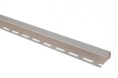 Планка отделочная для откосов, 3000 мм, цвет Белый