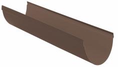 Жёлоб водосточный ПВХ, цвет коричневый d115 мм 3м